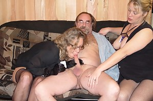 Mature Threesome Porn Pictures
